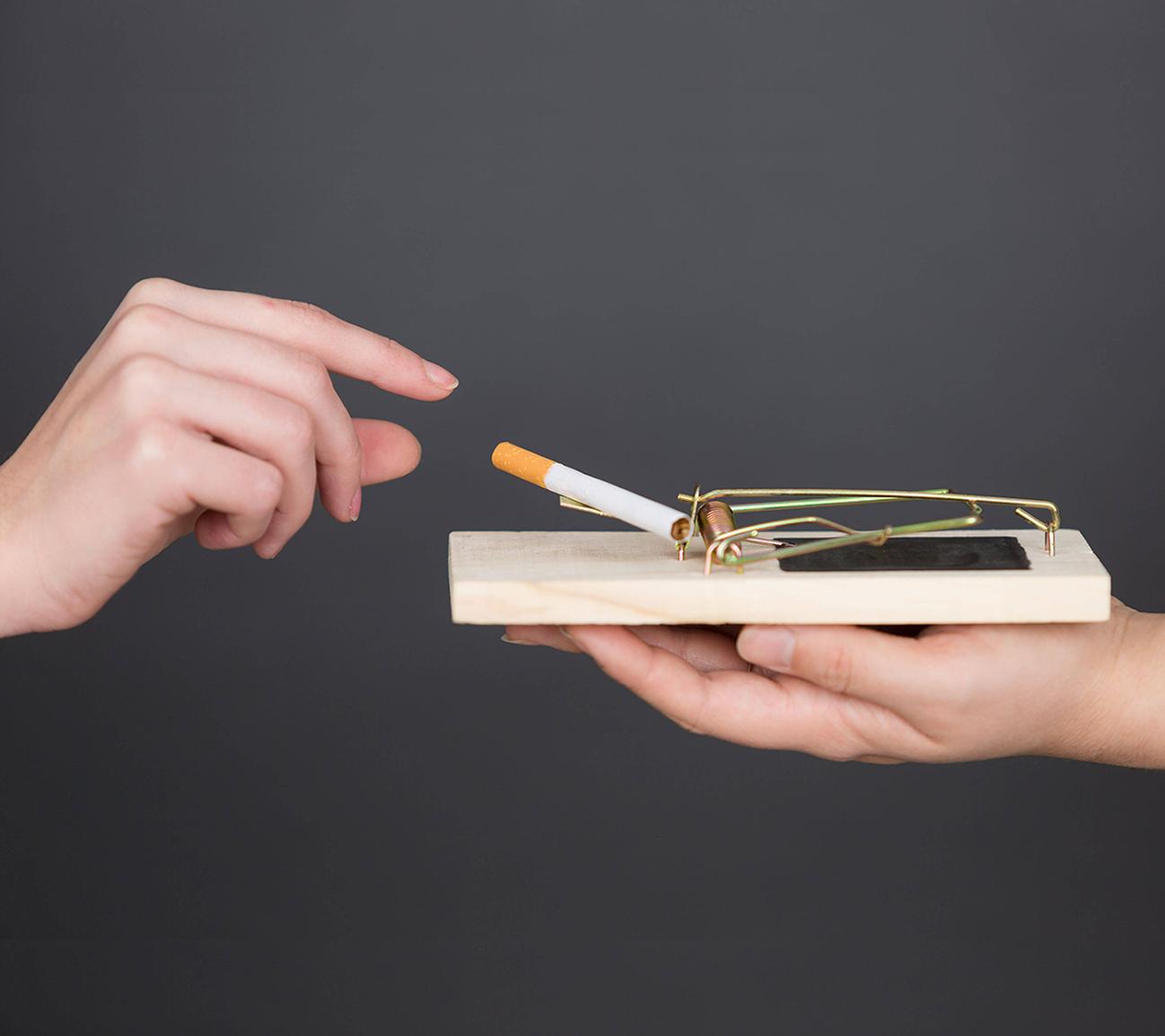 Nikotin ist eine Sucht und der Entzug ist überwindbar.