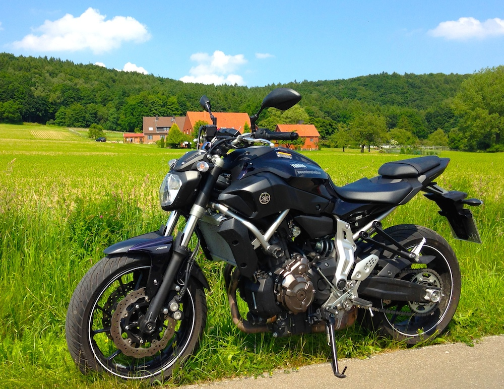 A2 Naked Bike - Yamaha mt07
