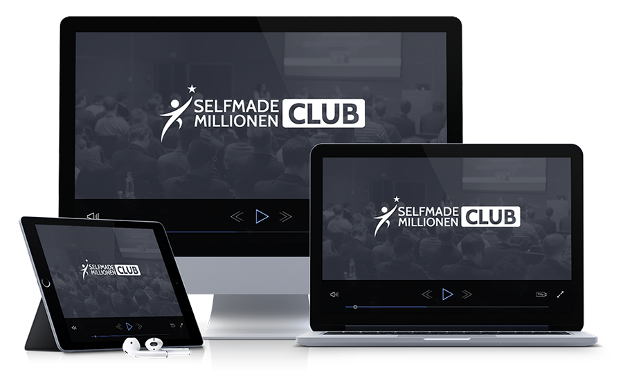 Selfmade Millionen Club Mockup