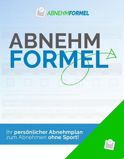 Abnehmformel Banner