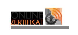 Online-Zertifikat Logo