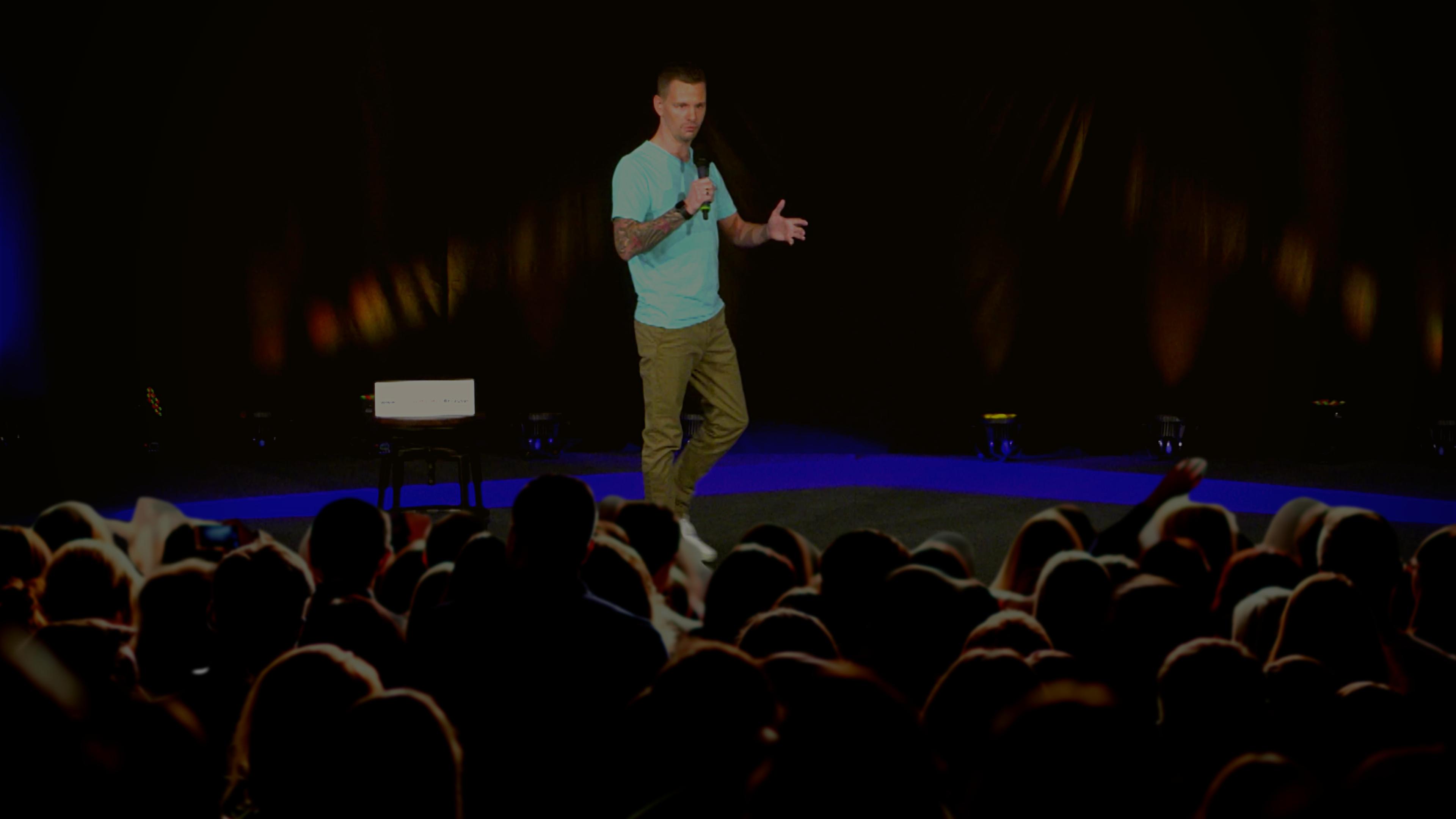 Michael Heister Bühne Speaker Slam