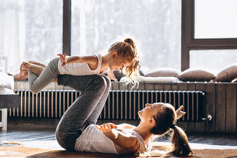 Mutter Kind Yoga
