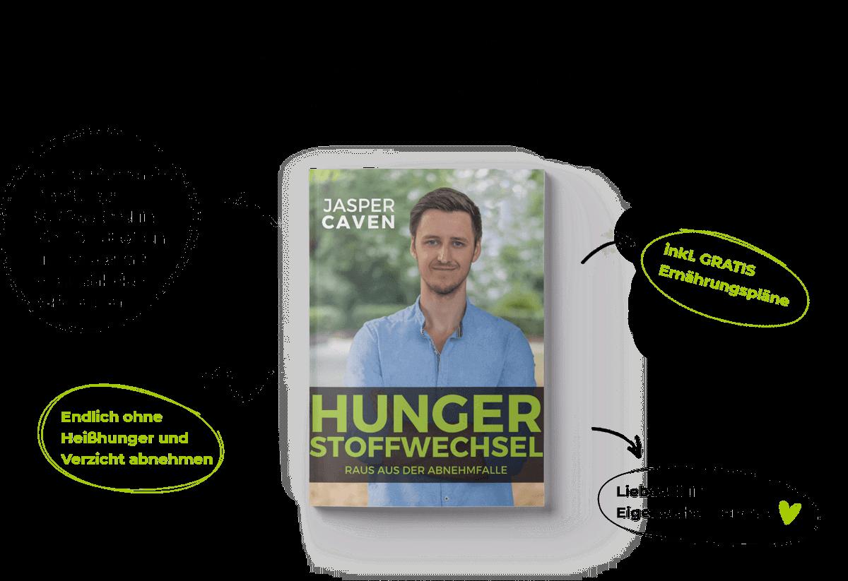 Hungerstoffwechsel - Raus aus der Abnehmfalle kostenloses buch jasper caven hunger stoffwechsel