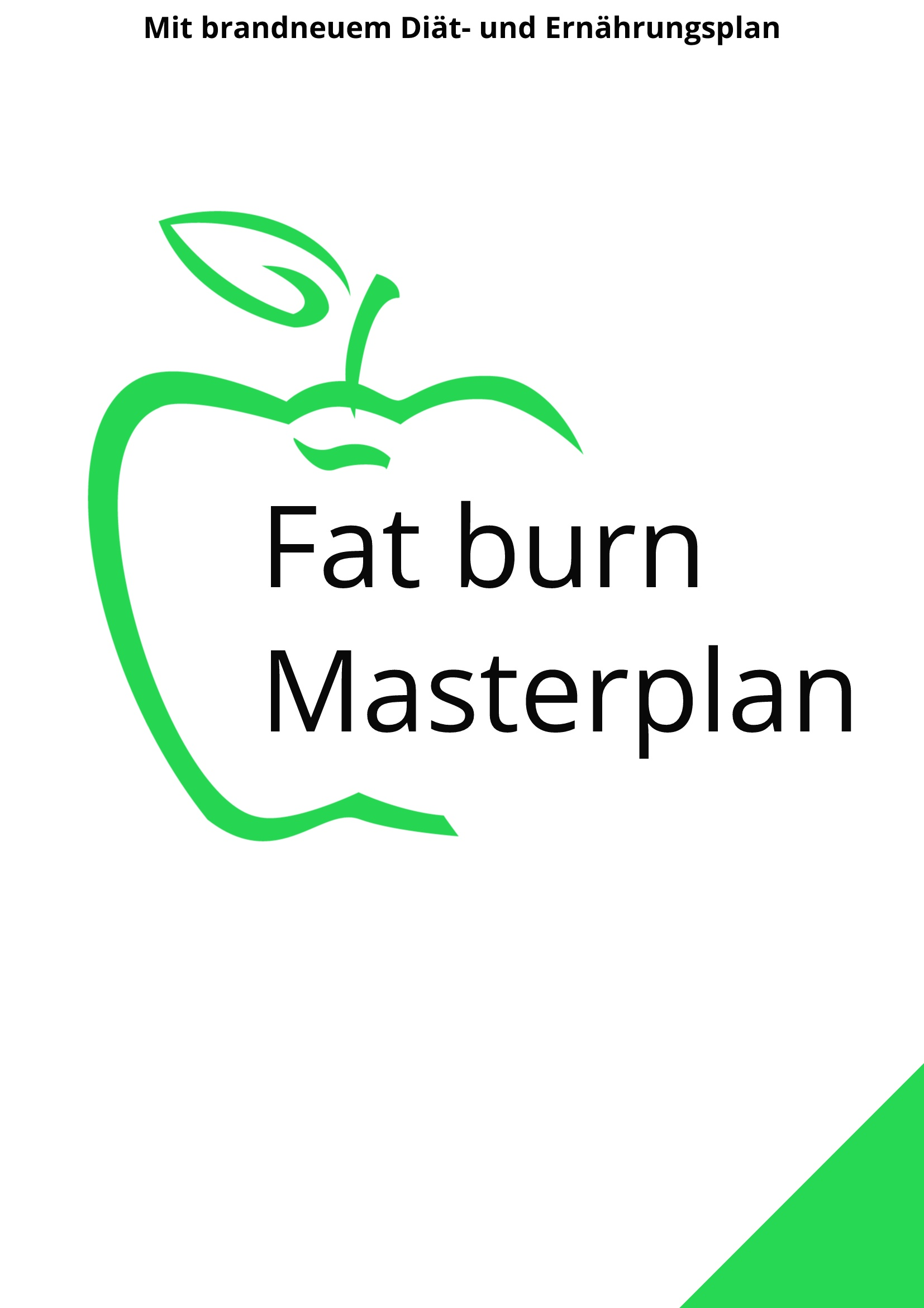 Fat burn Masterplan Cover