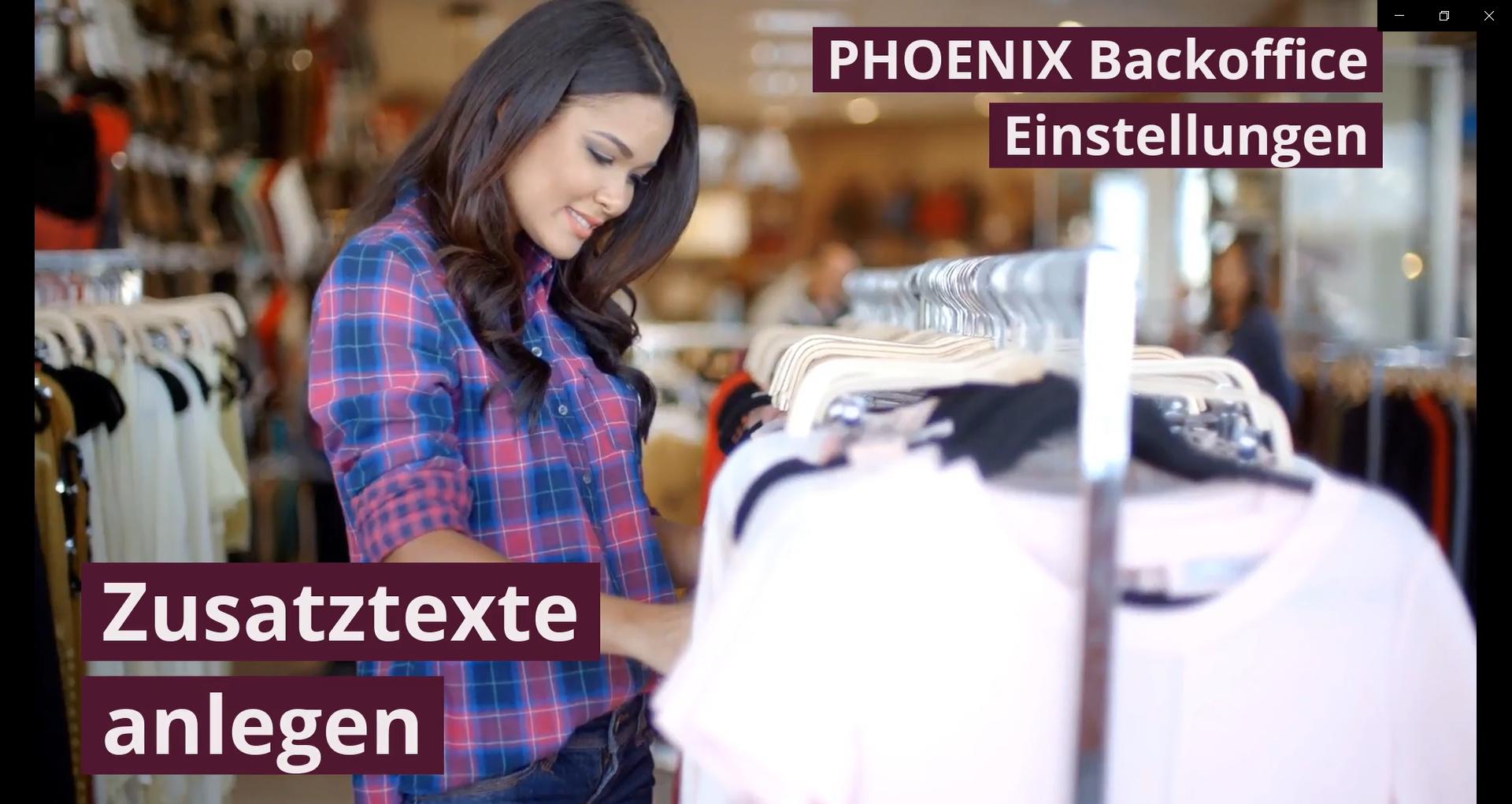 PHOENIX Feature - Zusatztexte