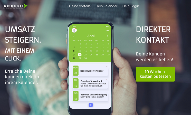 JUMPBIRD - Kalender Marketing