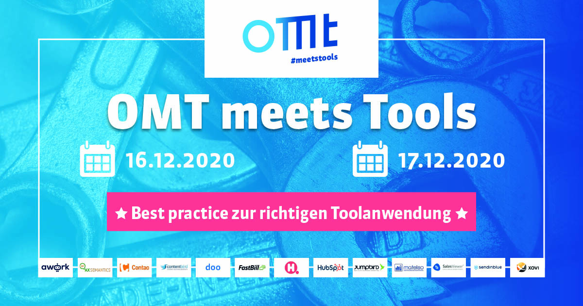 OMT meets Tools - JUMPBIRD ist dabei ;-)