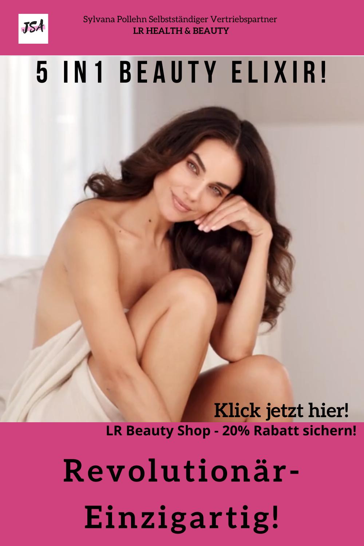 Frau mit Make up