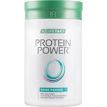 Protein Power Getränkepulver Vanille