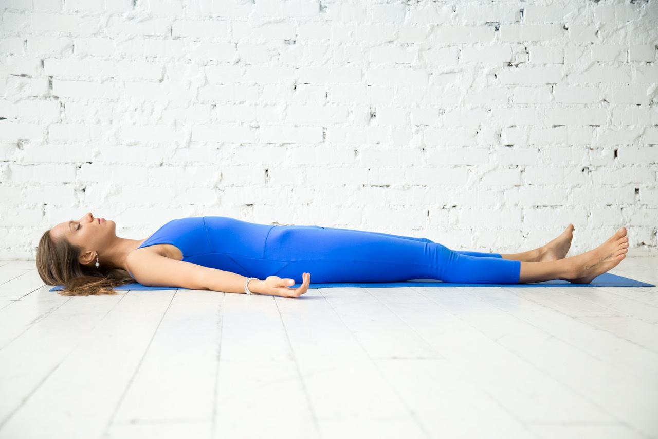 Grundübung der Progressiven Muskelentspannung