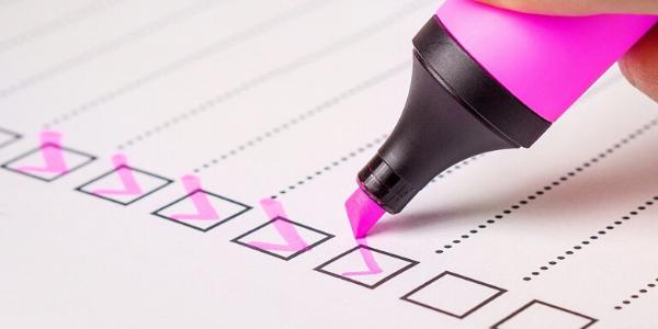 Eine abgehackte Checkliste zur Organisationsverbesserung