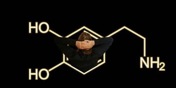 Die Chemische Formel von Dopamin
