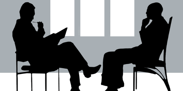 Diagnose Gespräch mit Psychiater, Präsenile Demenz
