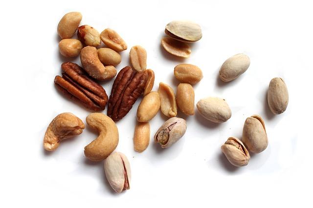 Nüsse zum Stressabbau