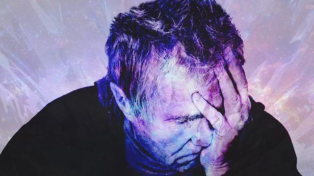 Mann mit nitrosativen Stresserscheinungen