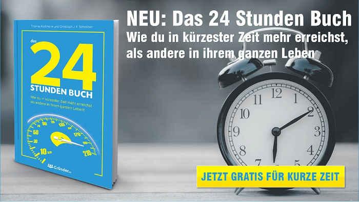 bild mit einem 24 Stunden Buch von Thomas Klußmann.