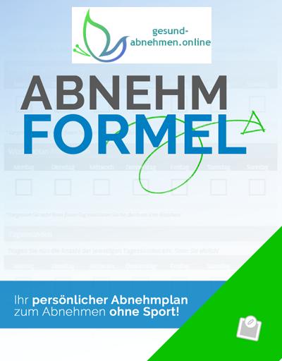 Cover Abnehmformel gesund-abnehmen.online