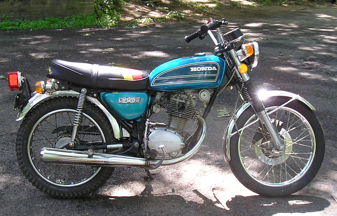 Honda cb 125 - 125er Softchopper