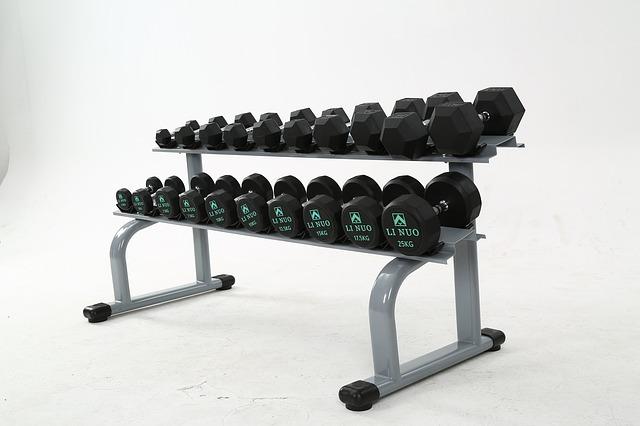 Fitness-Geräte für Muskel training