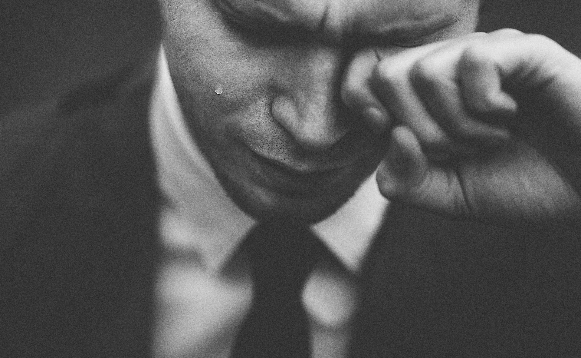 The chemicals released while crying help us self-regulate