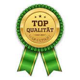 Auszeichnung sehr gute  Qualität