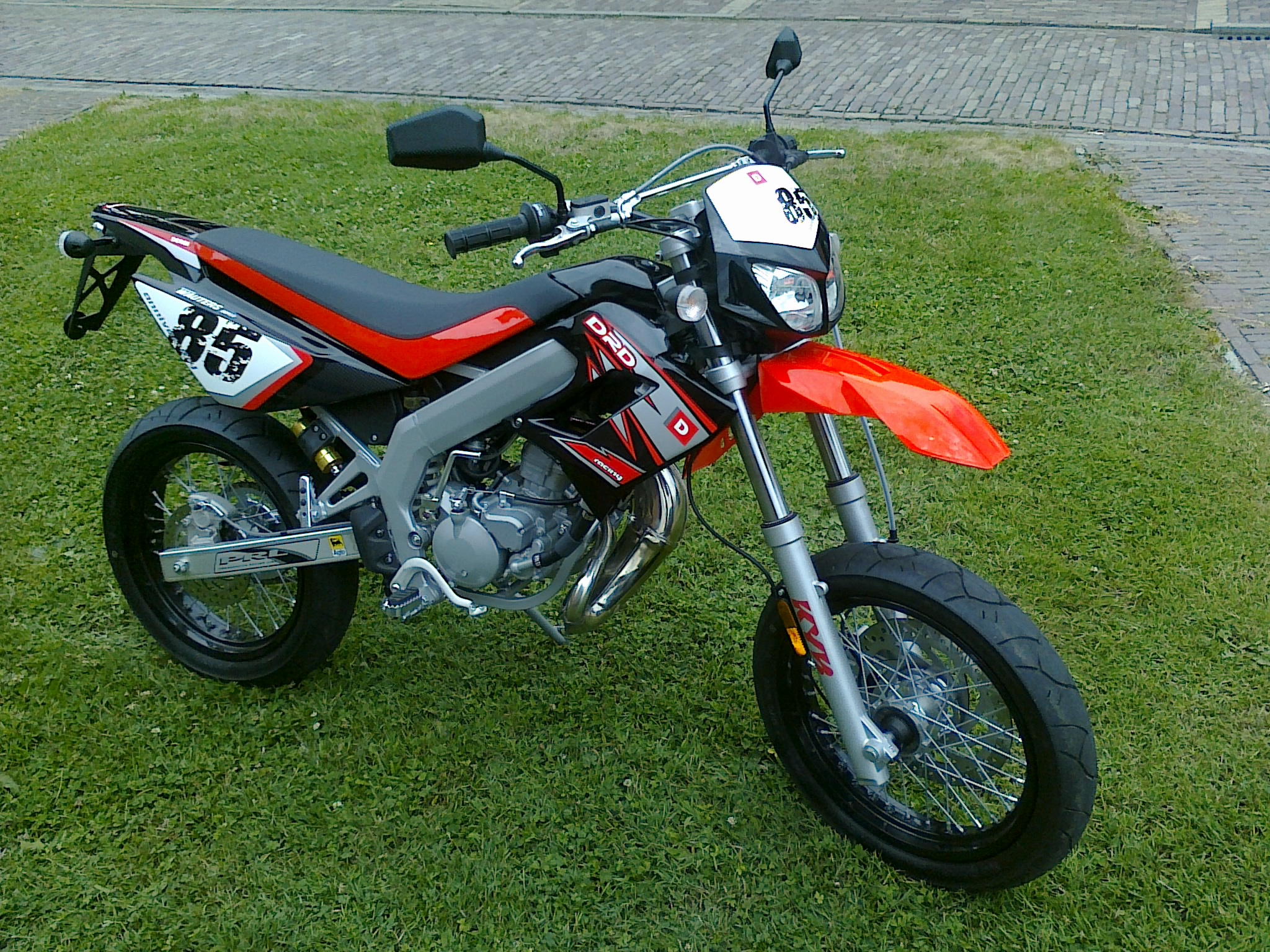 50ccm Schaltmoped - Derbi senda 50