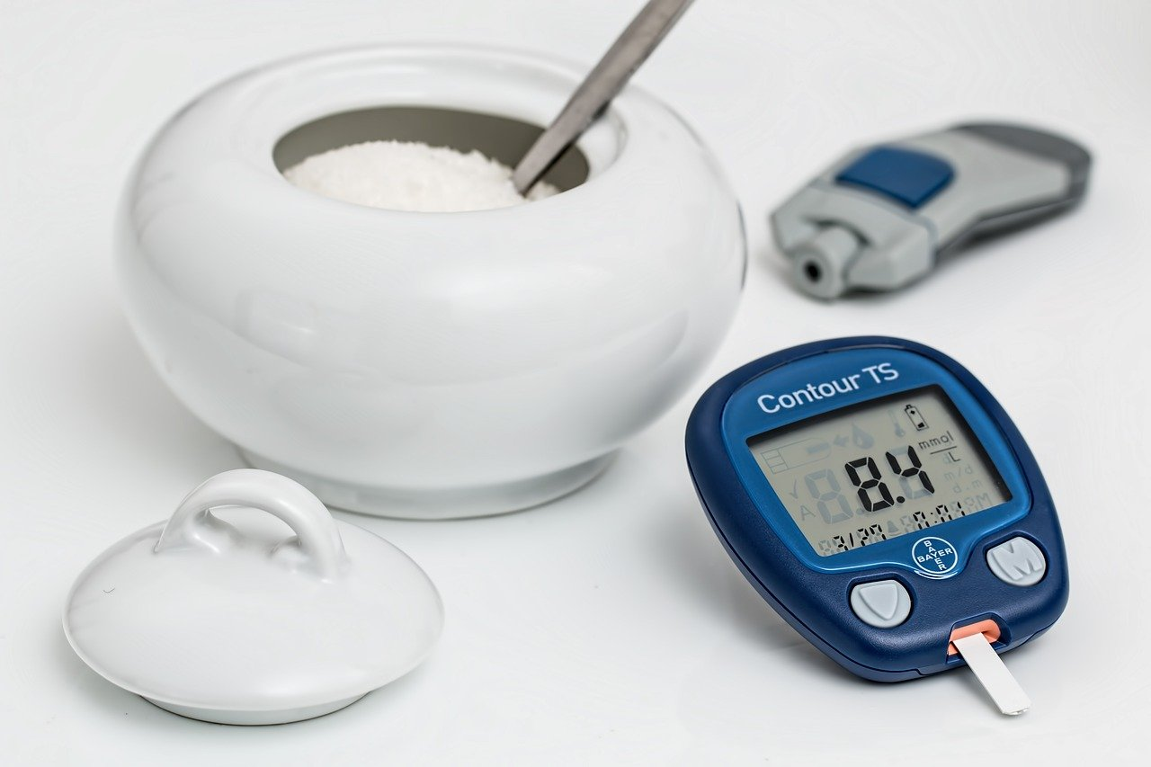 Zucker, Blutzuckermessgerät