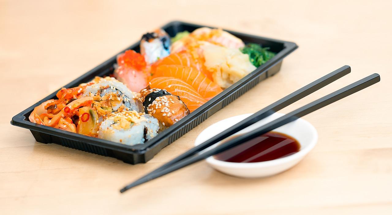 Sushi, Stäbchen