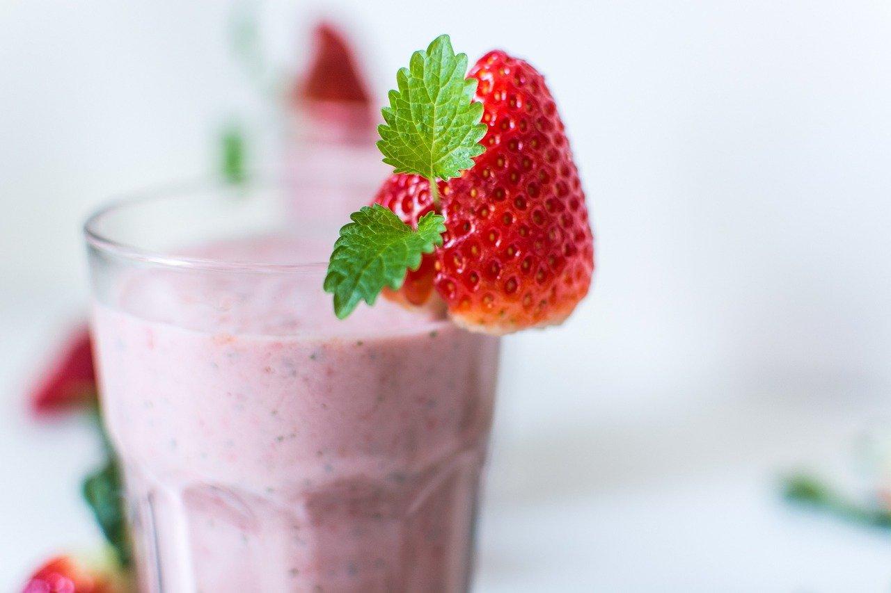 Shake, Erdbeere