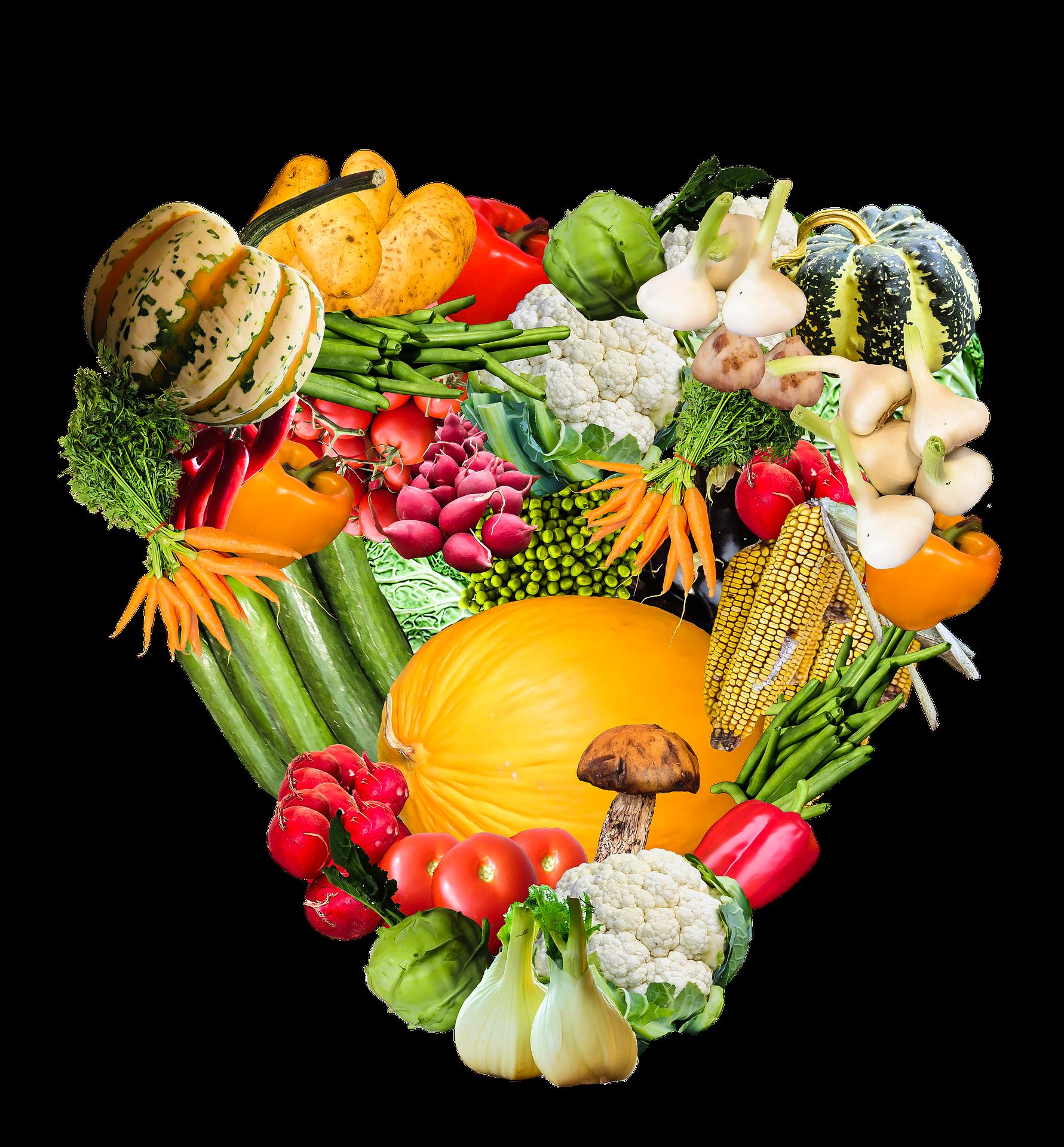Gemüse, Herz