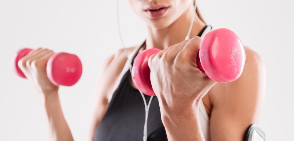 muskeln frau training workout