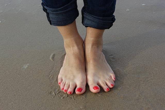 verschiedene Fußpilz Symptome