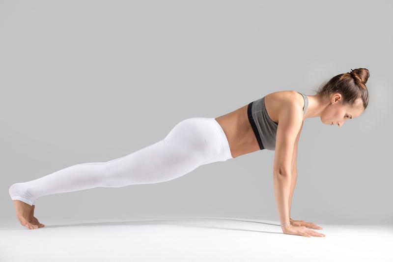 Rückenübung Plank