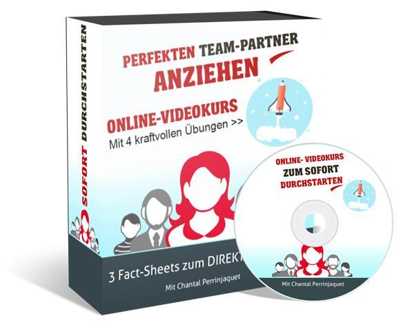 perfekten Team-Partner anziehen