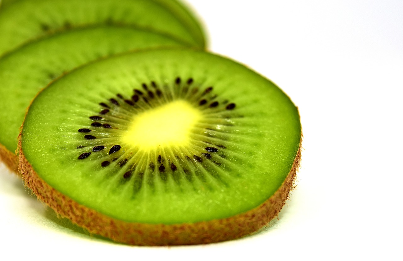 Obst ist gesund, Kiwis auch