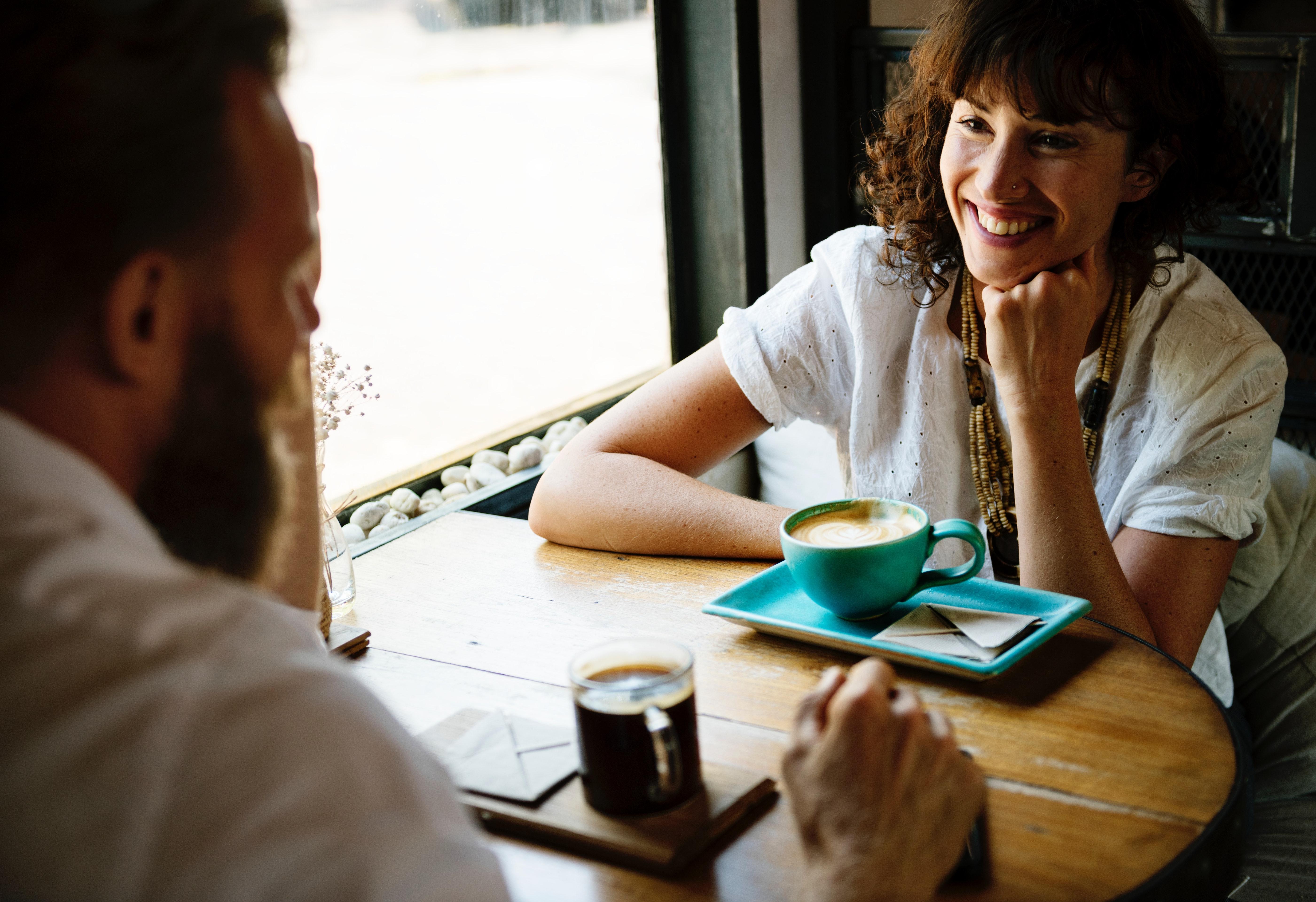 Gespräch zwischen freunde