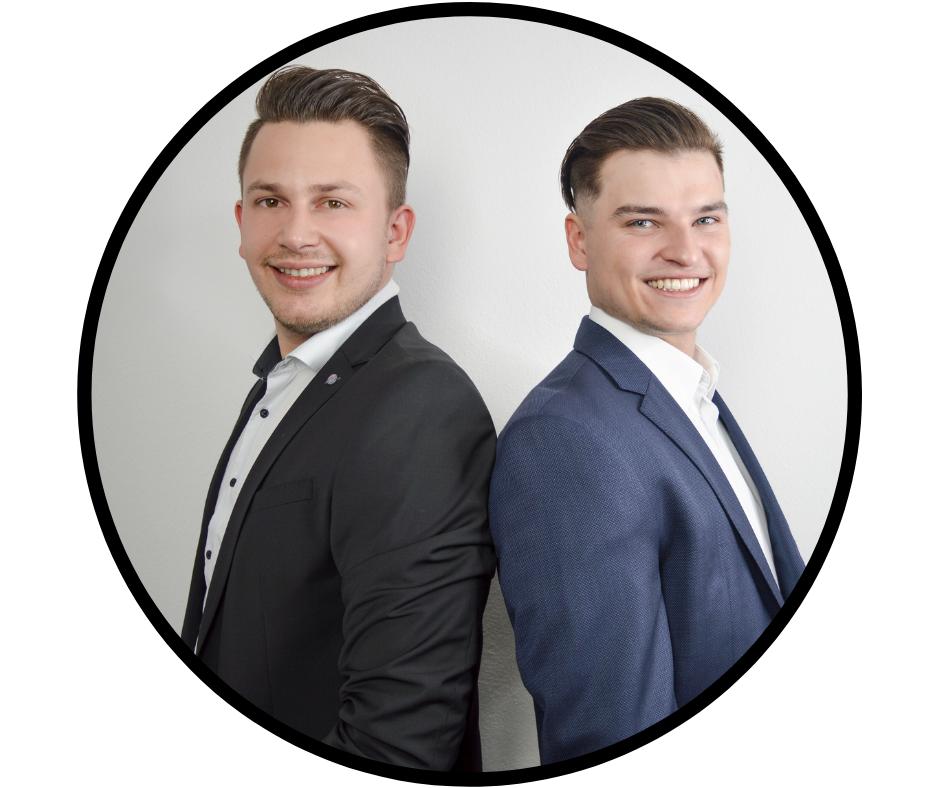 Dominik Bauer und Johannes Lang Geschäfstführer Best Result Marketing GmbH