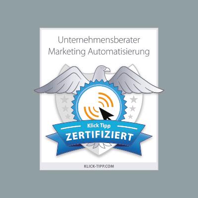Klick Tipp Zertifizierung