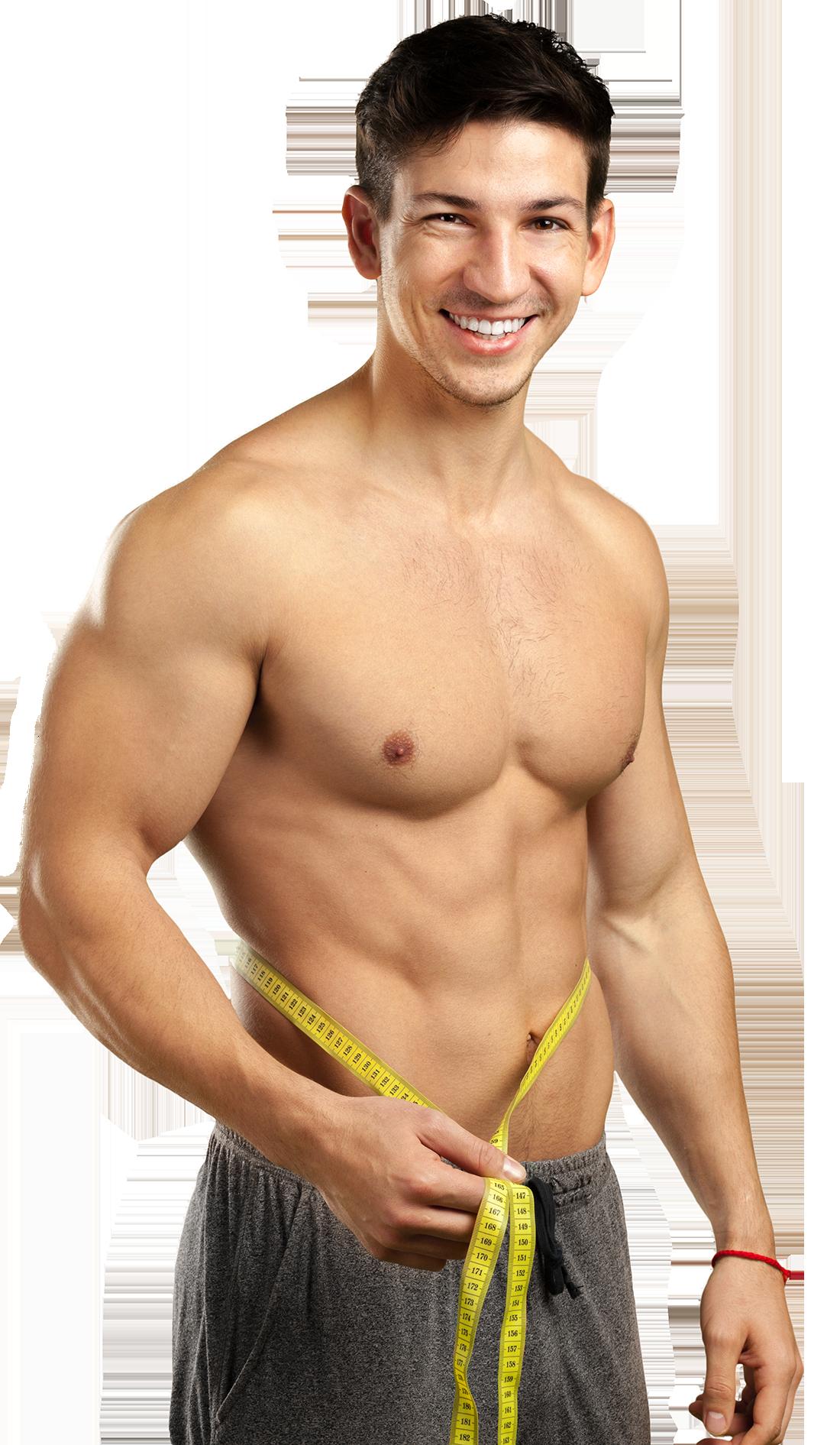 Mann mit gutem Körper