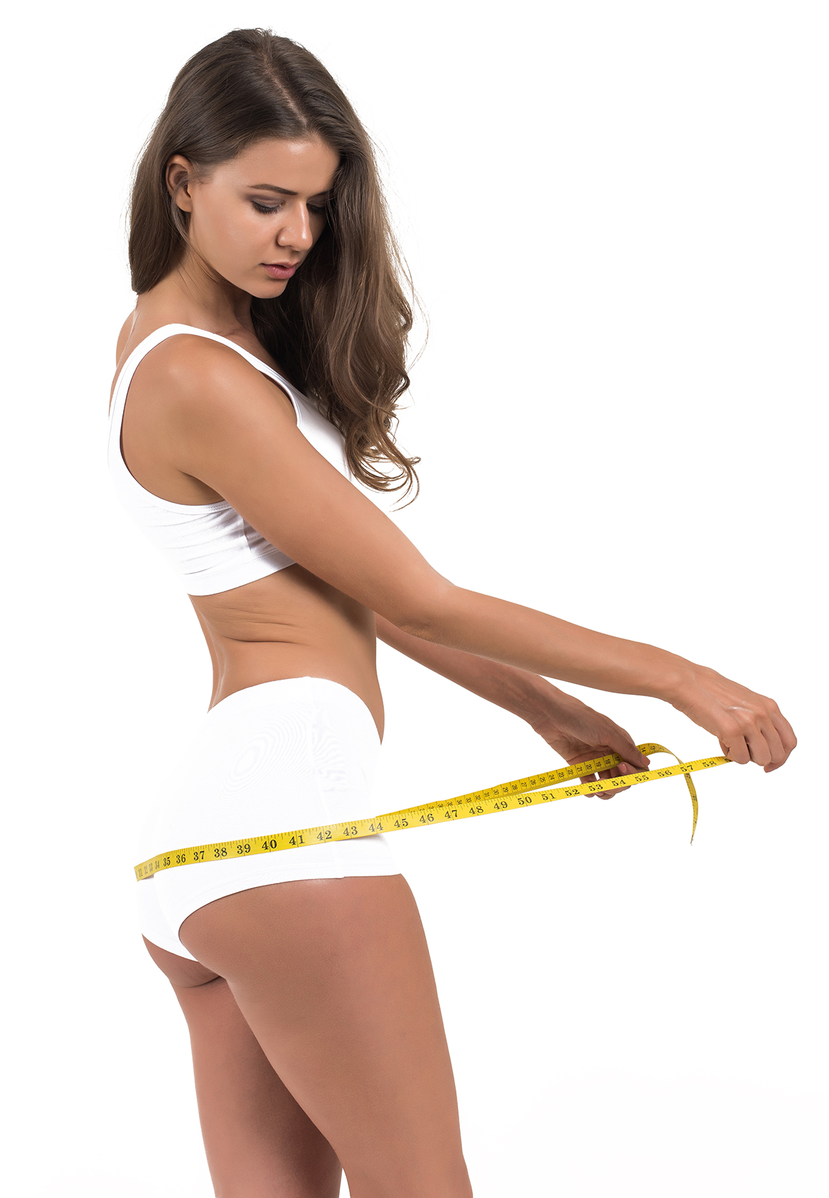Frau ohne Cellulite