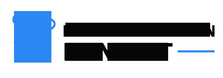 Rückenschmerzen Konzept Logo