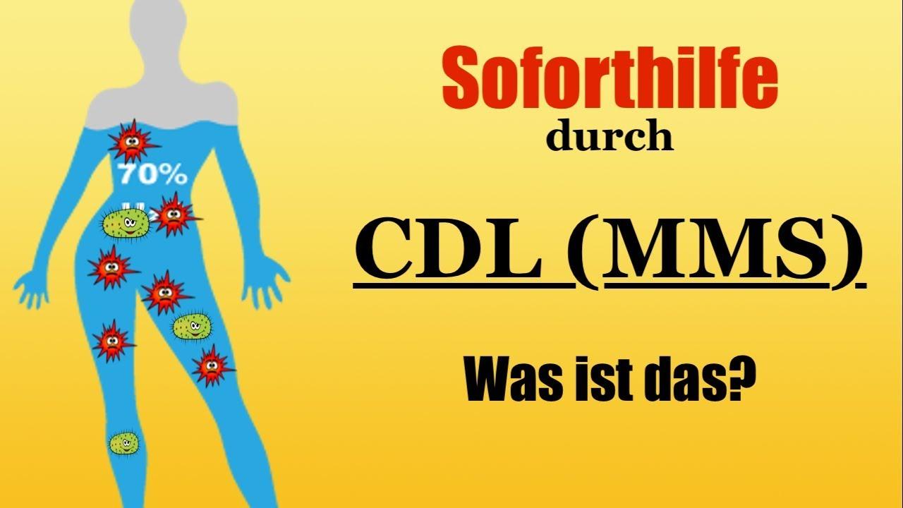 Wie wirkt CDL (Chlordioxid)?