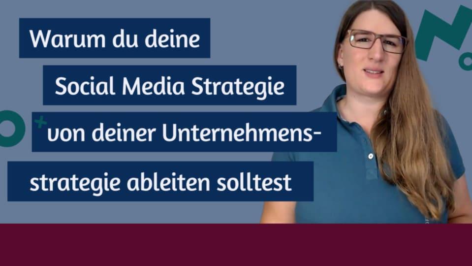 Nutze deine Unternehmensstrategie für Social Media