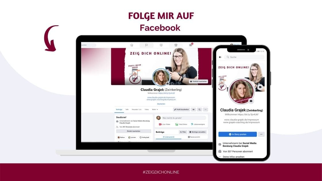 Facebook Claudia Grajek Social Media