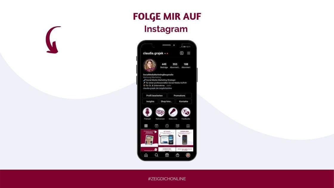 Instagram Claudia Grajek Local Social Media