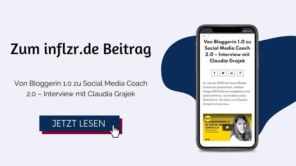 Von Bloggerin 1.0 zu Social Media Coach 2.0 – Interview mit Claudia Grajek