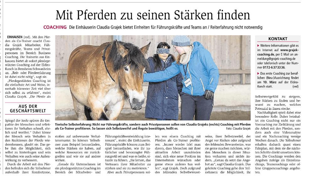 Starkenburger-Echo-Pferdecoaching-Bensheim