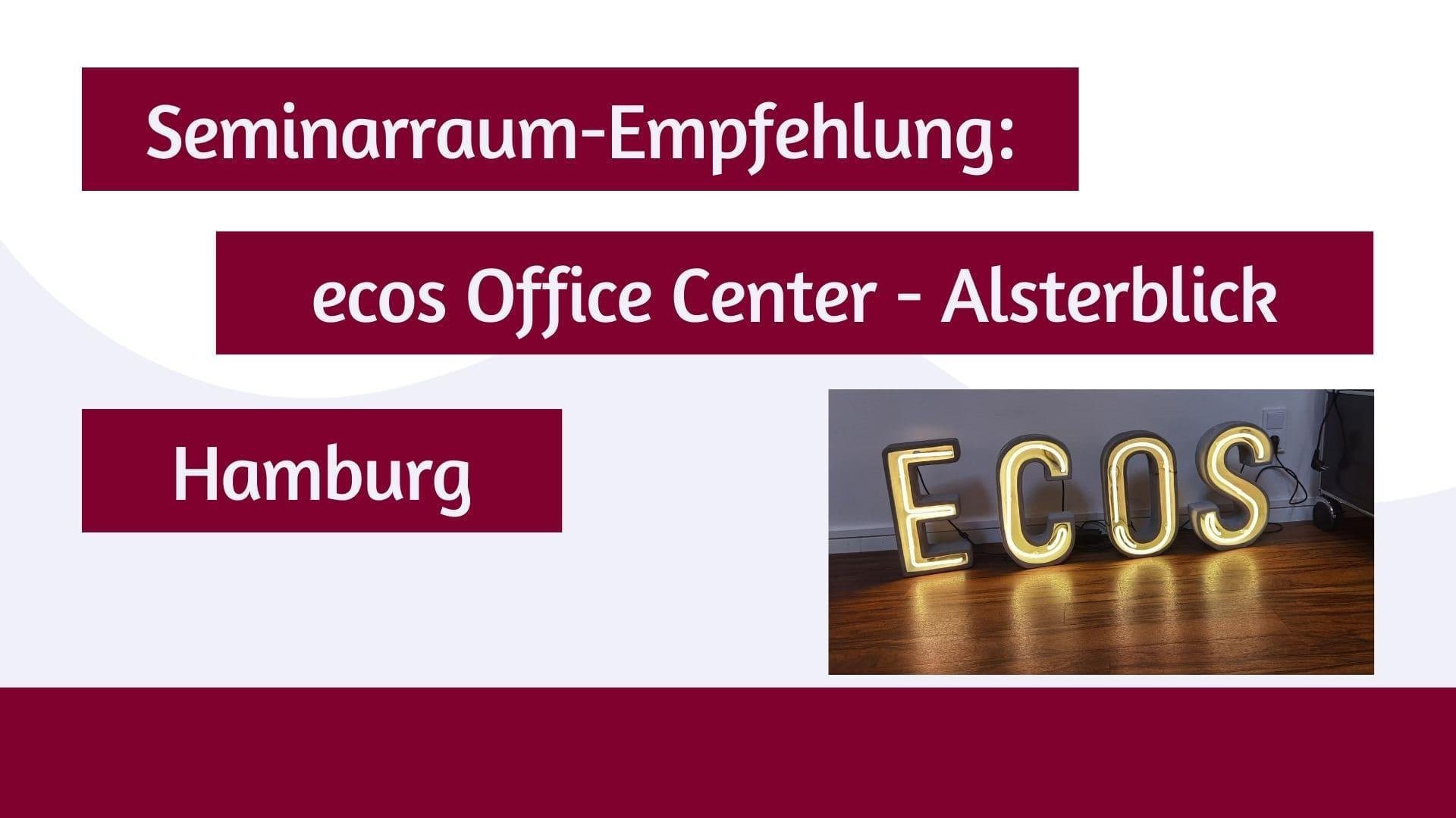 Seminarraum-Empfehlung für das ecos Office Center Hamburg