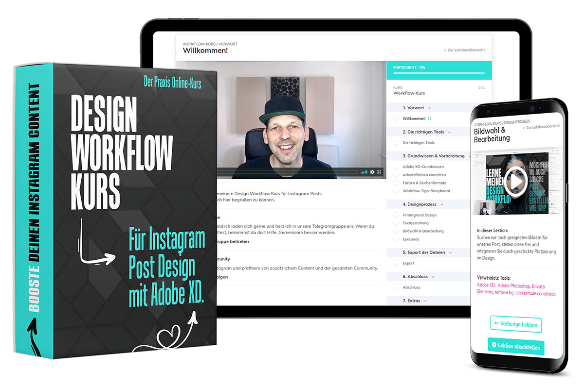 Instagram Design Kurs